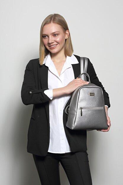 Marie Claire Kadın Gri Sırt Çantası Jane Mc212102011