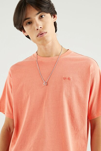 Levi's Erkek Vintage Tee Coral Quartz Garment Sarı/Turuncu Erkek Tişört 3985600120