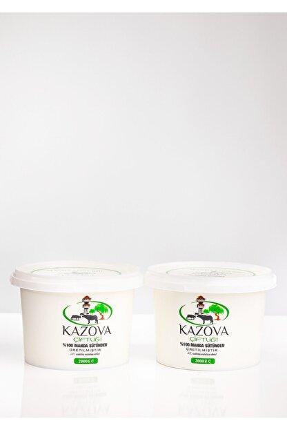 Kazova Çiftliği Manda Yoğurdu 2kg ( 2 Adet)