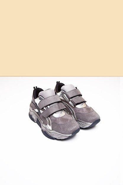 Pierre Cardin PC-30422 Platin Kadın Spor Ayakkabı