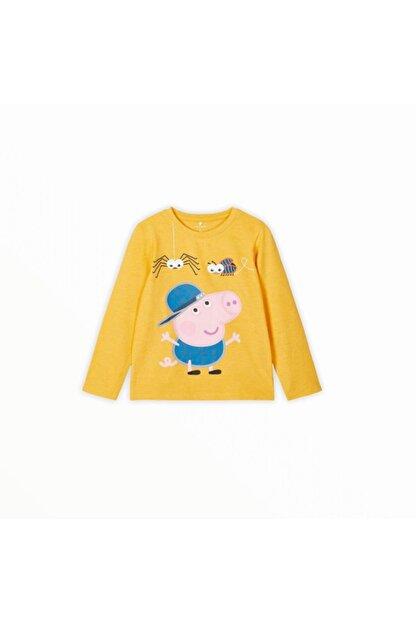 name it Kız Çocuk Peppa Pig Baskılı T-shirt