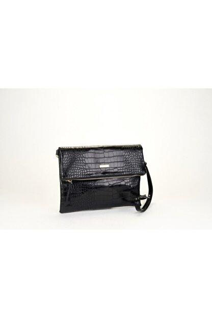 Coquet Kadın Siyah Black Clutch 19G3U13N355