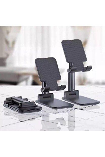 gaman Siyah Katlanabilir Masaüstü Tablet Ve Telefon Tutucu Stand