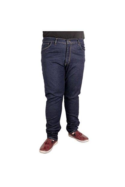 Modexl Büyük Beden Erkek Pantolon Kot 20903 Lacivert