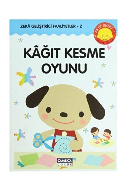 Çamlıca Çocuk Yayınları Kağıt Kesme Oyunu - Kazuo Kobayashi