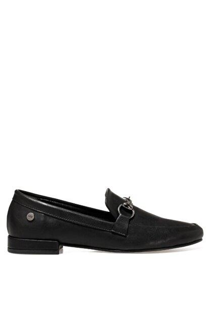 Nine West Suela2 Siyah Kadın Loafer Ayakkabı