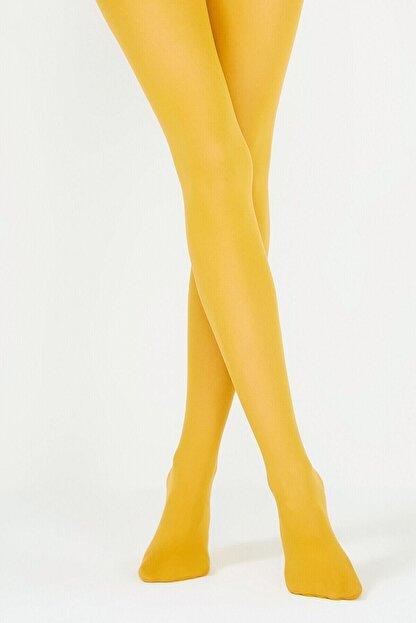 Penti Kadın Safran Micro 40 Külotlu Çorap