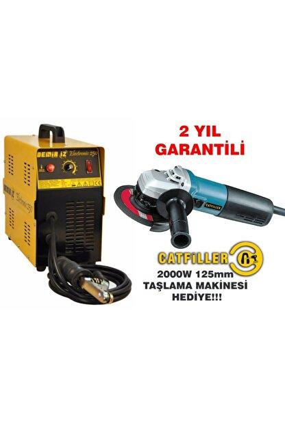 Catfiller Demiriz 250 Amper Bakır Sargılı Kaynak Makinası Pro + 2000w Spiral Taşlama Makinası