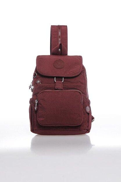 Smart Bags Kadın Bordo Sırt Çantası Smbk1138-0021