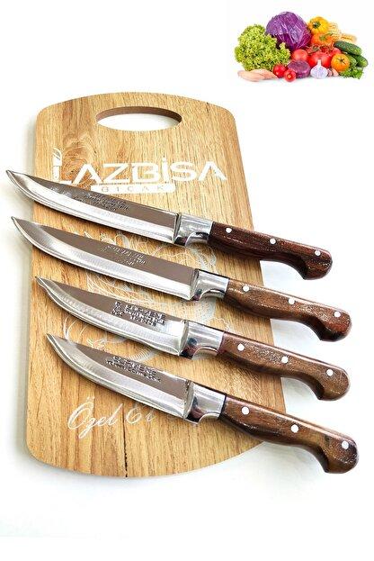 LAZBİSA Sürmene Mutfak Bıçak Seti Et Ekmek Sebze Meyve Bıçak