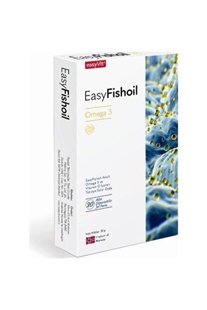 Easy Fishoil Easyvıt Easyfishoil Omega 3 Yetışkın