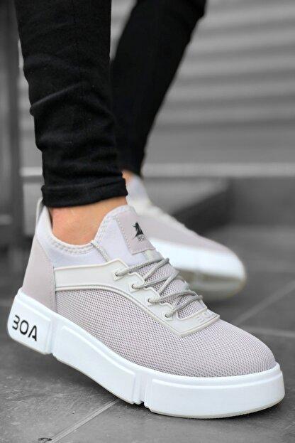 Mida Shoes Gri Bt Spor Sneakers
