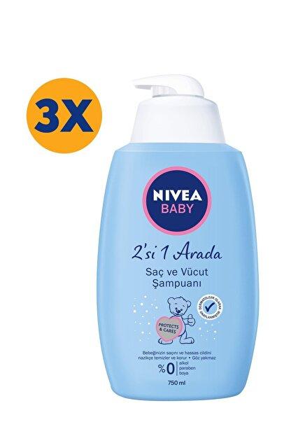 Nivea Nıvea Bebek Şampuanı 750 Ml X3