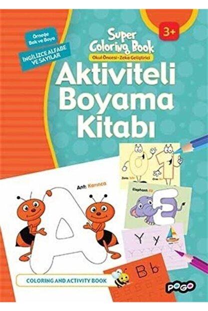 Pogo Çocuk Aktiviteli Boyama Kitabı-ingilizce Alfabe Ve Sayılar