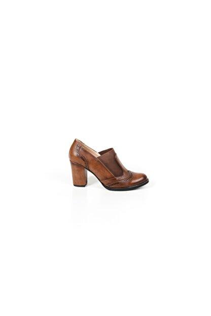 Lider Lastikli Kadın Topuklu Ayakkabı