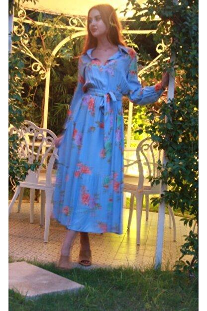 Hotfashion Hot Fashion Maksi Elbise