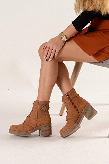 Nil Shoes Taba Süet Yuvi Bot