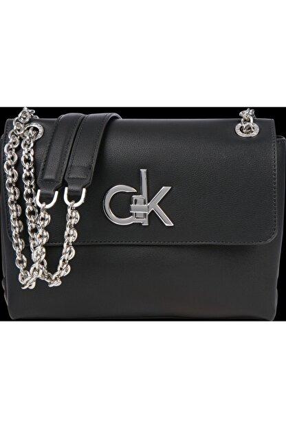 Calvin Klein Kadın Siyah Omuz Çanta