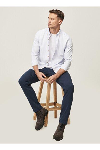 Altınyıldız Classics Erkek Lacivert 360 Derece Her Yöne Esneyen Rahat Slim Fit Pantolon