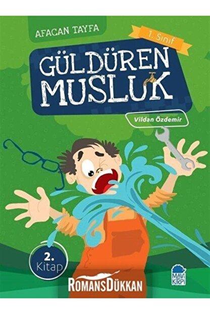 Mavi Kirpi Güldüren Musluk Afacan Tayfa 1. Sınıf Okuma Kitabı
