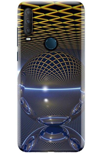 Noprin Alcatel 1s 2020 Kılıf Silikon Baskılı Desenli Arka Kapak
