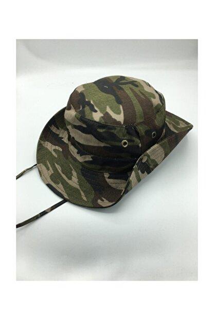 GONCA ŞAPKA Unisex Yazlık Katlanabilir Safari Şapkası