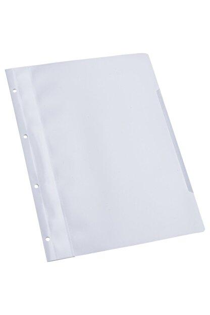 Temat 144830 Telli Dosya Plastik A-4 Beyaz 50 Li (1 Paket 50 Adet)