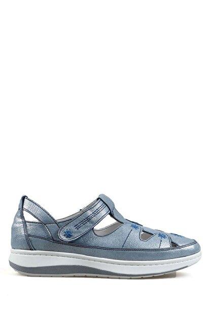Hammer Jack Mavi Sım Kadın Ayakkabı 314 1034-z