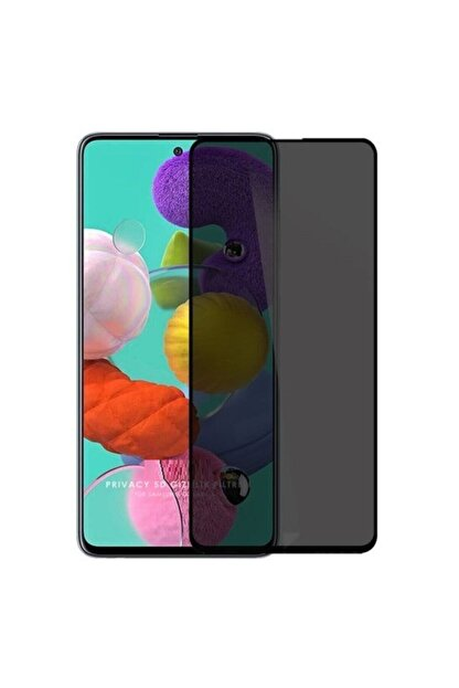 carecase Samsung Galaxy A71 Kavisli Gizlilik Filtreli Hayalet Ekran Koruyucu