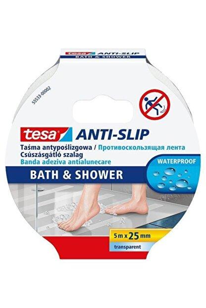 Tesa Merdiven Kaydırmaz Bant (Banyo Için Kaydırmaz Bant) 25mm X 5mt Islak Zemin 55533-00002-11