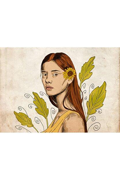 Ceyda Kurteş Güneşe Dön Çiçeğim, 45x32, Dijital Illüstrasyon