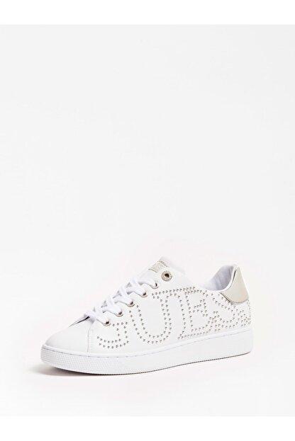 Guess Razz Beyaz Kadın Sneaker