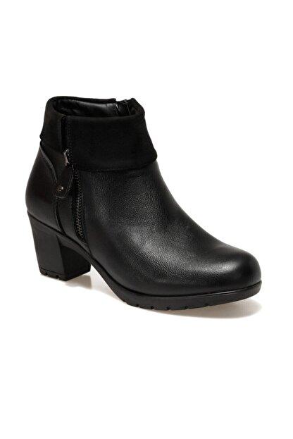 Polaris 161376.Z Siyah Kadın Topuklu Bot 100548456