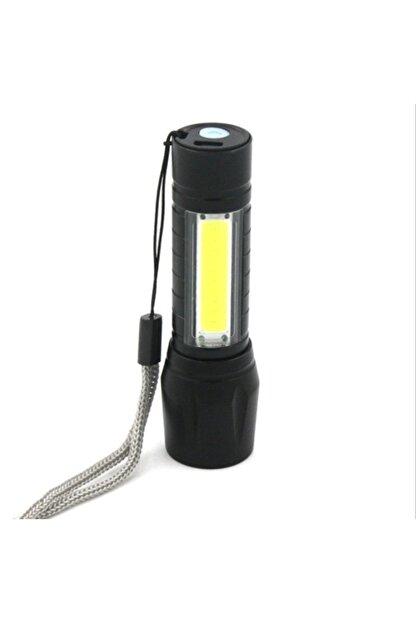 gaman Pt-4140 3 Mod Şarjlı 3 Watt 600 Lümen Süper Parlak Cob Zoomlu  Led El Feneri