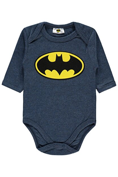 Batman Erkek Bebek Çıtçıtlı Badi