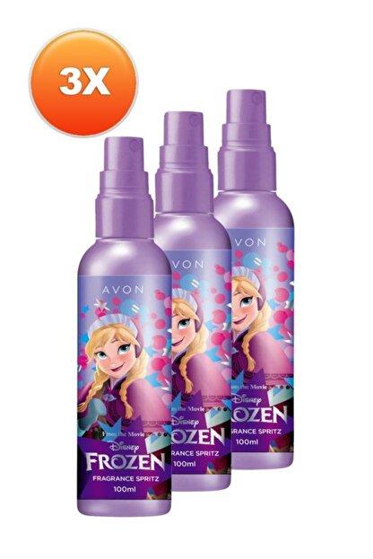 Avon Disney Frozen Kız Çocuk Vücut Spreyi Üçlü Set