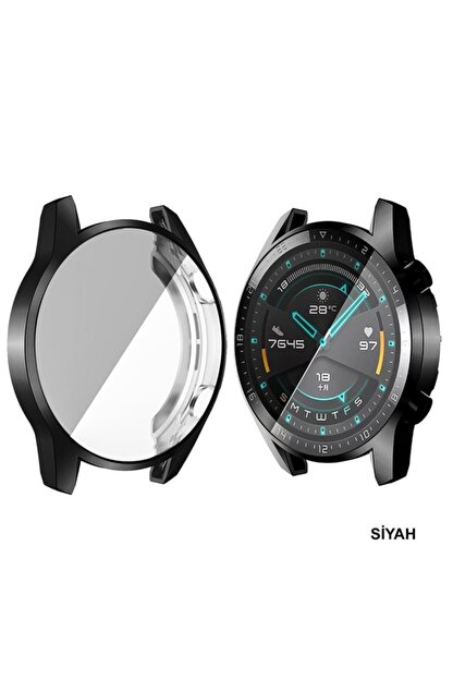 Cimricik Huawei Watch Gt2 46 Mm 360 Derece Kasa Ve Ekran Koruyucu