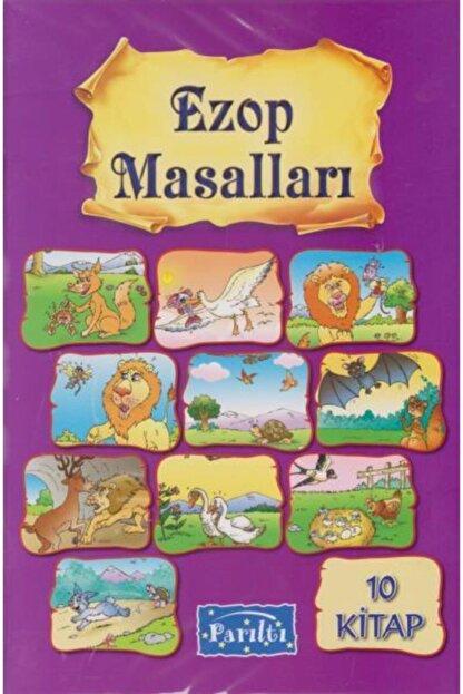 Parıltı Yayınları Parıltı 1. Sınıf Ezop Masalları 10 Kitap Takım