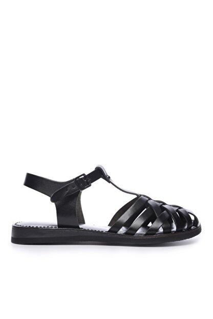 Kemal Tanca Kadın Derı Sandalet Sandalet 649 67 Bn Snd