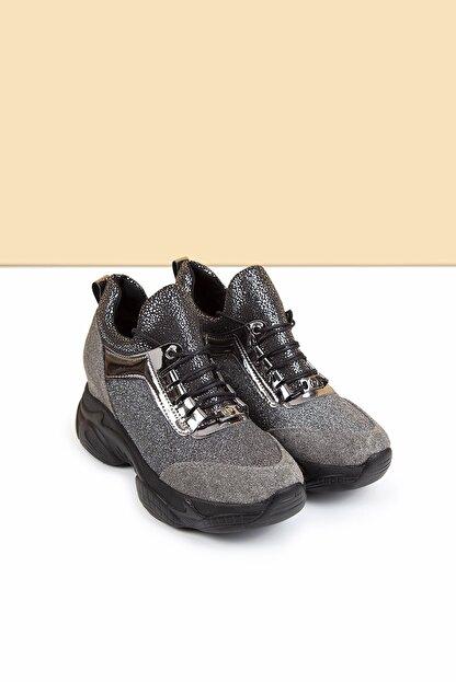 Pierre Cardin Pc-30398 Platin Kadın Spor Ayakkabı