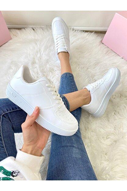 ELSESHOES Unısex Beyaz Sneaker