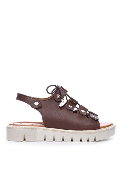 Kemal Tanca Kadın Derı Sandalet Sandalet 169 51904 Bn Sndlt