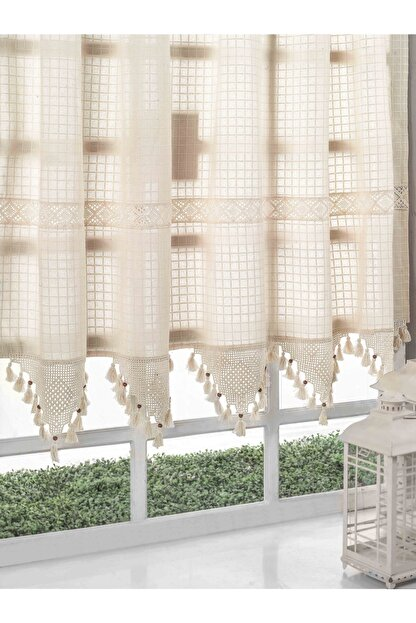Buldan CSN Tekstil Buldan Monika Pamuklu Natural Perde