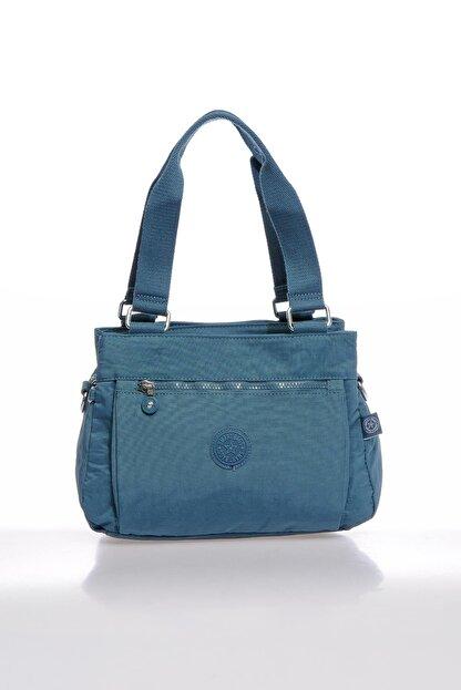 Smart Bags Smbky1125-0050 Buz Mavi Kadın Omuz Çantası
