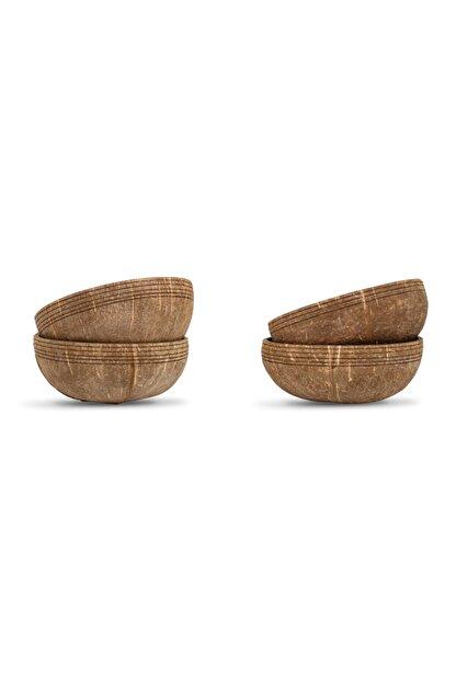Gaia's Store Buddha Bowl Hindistan Cevizi Kasesi Seti - Coconut Bowl