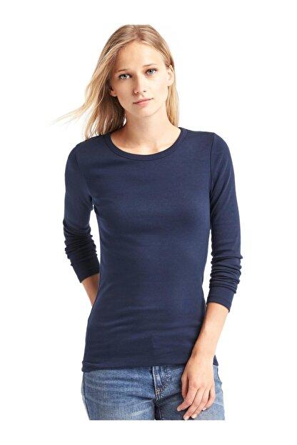 GAP Uzun Kollu Sıfır Yaka T-shirt