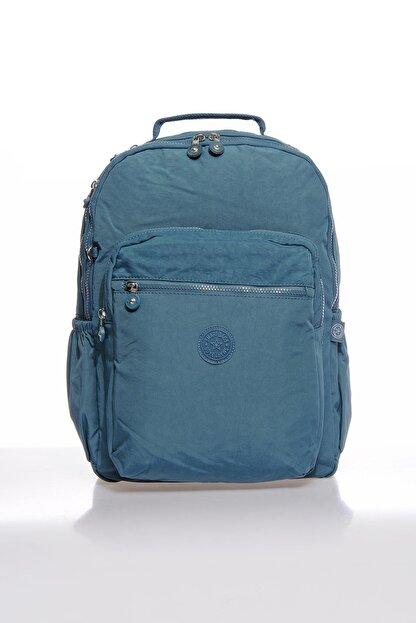 Smart Bags Smbky1019-0050 Buz Mavi Kadın Sırt Çantası