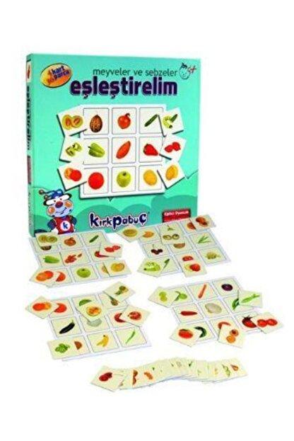 Kırkpabuç Puzzle Eşleştirelim Meyveler Ve Sebzeler 7309
