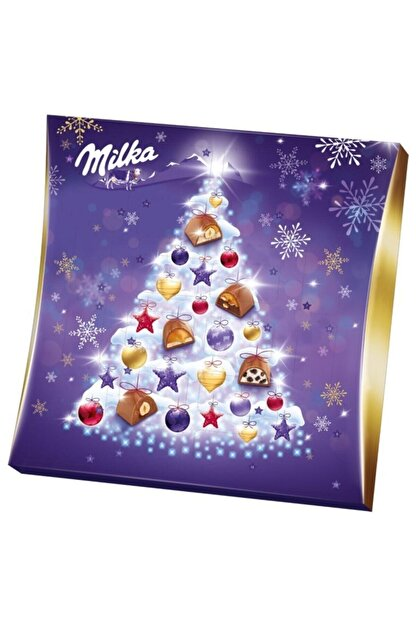 Milka Moments Yılbaşı Takvimi 5 Farklı Çikolata 211 G