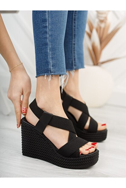 serkanseyyid Kadın Dolgu Topuklu Ayakkabı